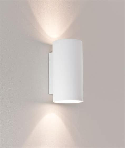astro bologna 240 7002 cylindrical wall light 2 50w gu10