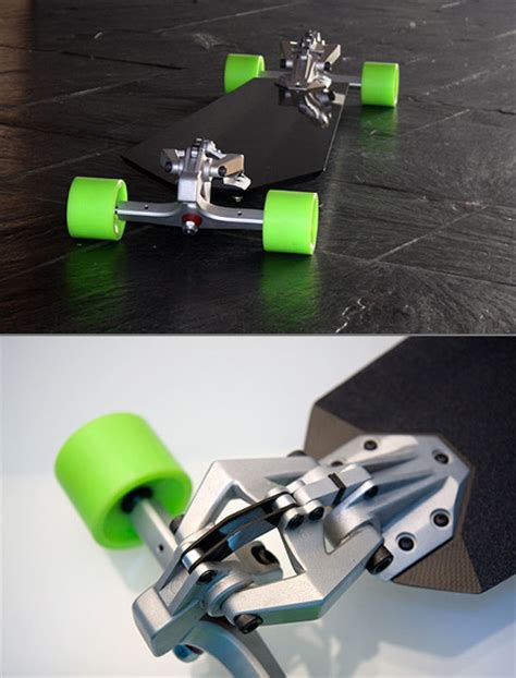 downhill machine the ultimate longboard with inifinite tuning possibilities techeblog