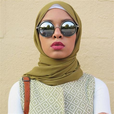 fabulous hijab styles   faces  glasses