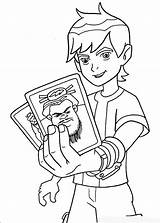Ben Ten Coloring Pages Boys Police sketch template