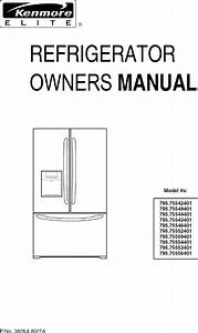 Kenmore 795 755524 Users Manual