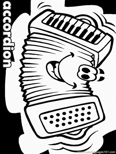 accordion face coloring page  germany coloring pages coloringpagescom