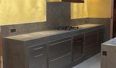 beton ciré pour cuisine cuisine béton ciré peinture photos et conseils