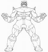 Thanos Coloring Pages Infinity War Printable Power Avengers Marvel Coloringonly Categories Getcolorings Favourites sketch template
