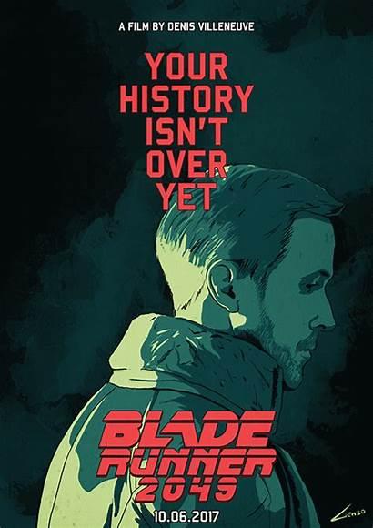 Blade Runner 2049 Poster Film Posters Motion