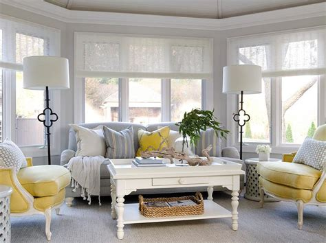 gray and yellow furniture sunroom sofas style archive awash in white sunroom decorating and thesofa