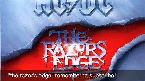 acdc  razors edge youtube