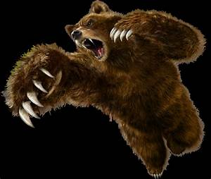 The gallery for --> Bear Standing Growling