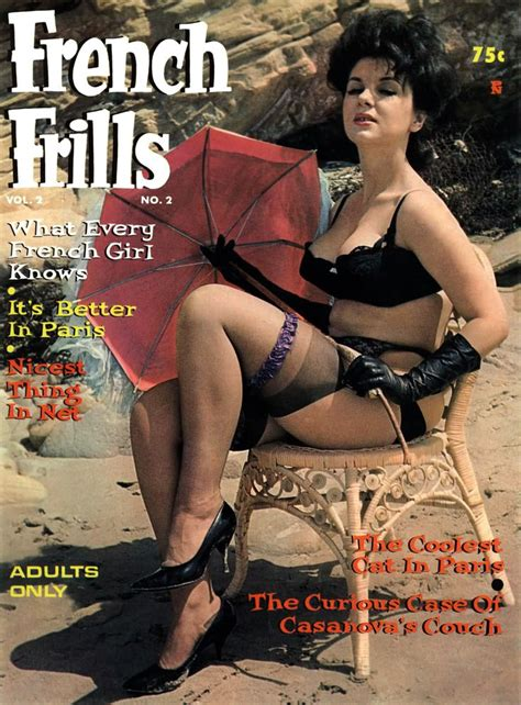 images of chic vintage porn magazins frills vol 2 no 2 1962 pin up magazine books magazine vintage