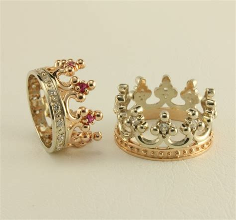 sale   crown wedding ring set royal wedding rings