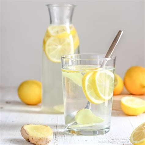 body cleansing lemon ginger water recipe happyfoods tube