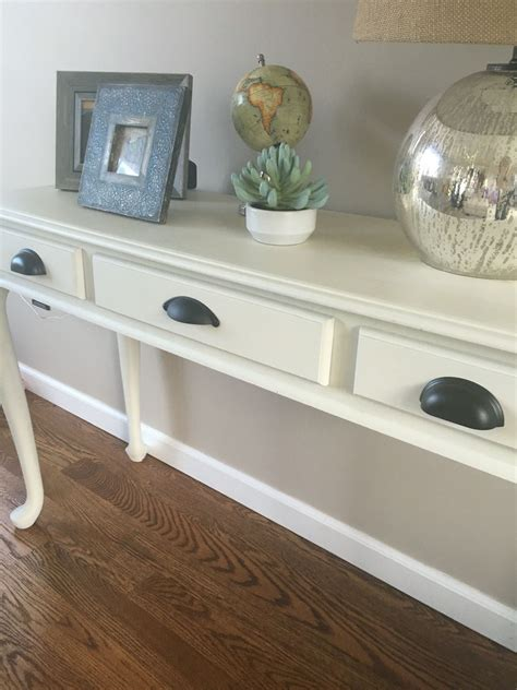 console cream chalk paint rustoleum tinted furniture