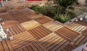 Dalle Bois 100x100 Castorama : dalle terrasse brico depot suprenant escalier bois exterieur cosmeticuprise ~ Melissatoandfro.com Idées de Décoration