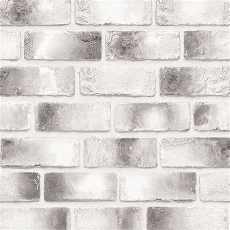 Update Your Decor With This Gray Brick Peel And Stick Wallpaper by Modern Black Brick Contact Paper Peel And Stick Wallpaper