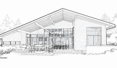 Modern Houses Sketches Sketch Drawing Google Simple