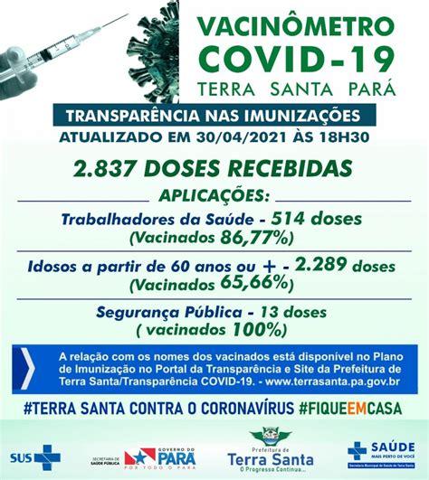 Boletim COVID-19 (30/04/2021) - Prefeitura Municipal de ...