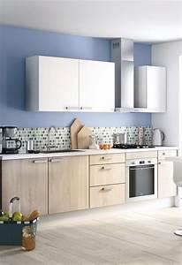 Deco Cuisine Bois : conseils d co osez la cuisine bleue blog but ~ Melissatoandfro.com Idées de Décoration