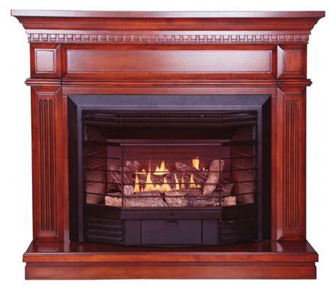 kozy world carlton    dual fuel gas fireplace