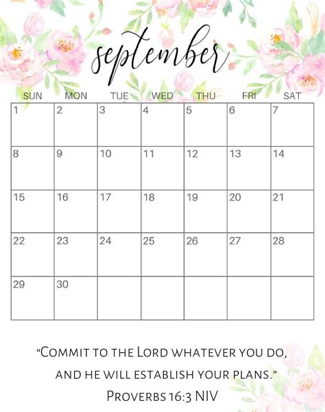 september  calendar word template magic calendar