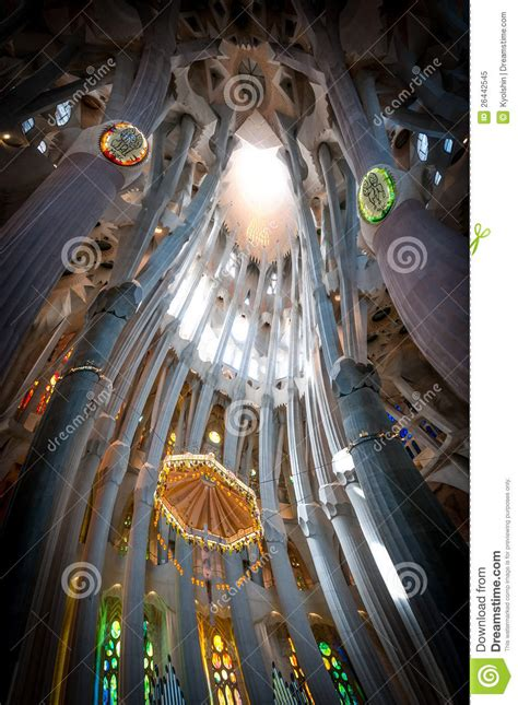 sagrada familia  barcelona  spain europe editorial