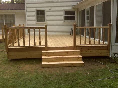 Basic Deck Plans Free  Home Design Ideas