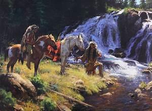 Western, Art, Lovers, Herd, To, Kerrville, U0026, 39, S, Roundup, Art
