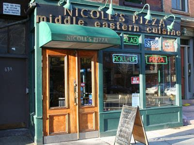 nicoles pizza middle eastern cuisine   south  boston