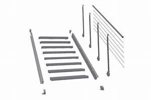 Beläge Für Treppenstufen Innen : schnellbautreppen treppenbausatz gitterroststufe rotec ~ Michelbontemps.com Haus und Dekorationen