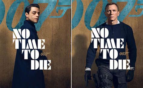 No Time To Die Posters: Daniel Craig and Rami Malek stun all