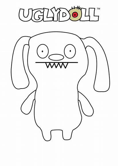 Ugly Coloring Dolls Doll Pages Uglydolls Printable