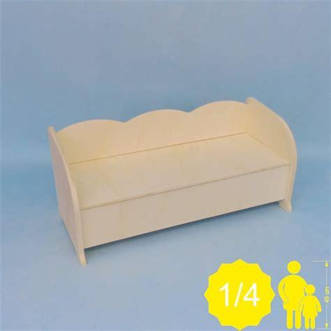 canapé en kit canapé 3 places miniature en kit pour poupée 1 4ème 40 à