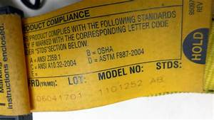 Dbi Sala 11101252 Full Body Safety Harness Xl Fall