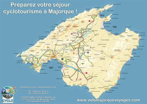 Ile De Tourisme Carte by Majorque Carte Touristique Photo Du Monde