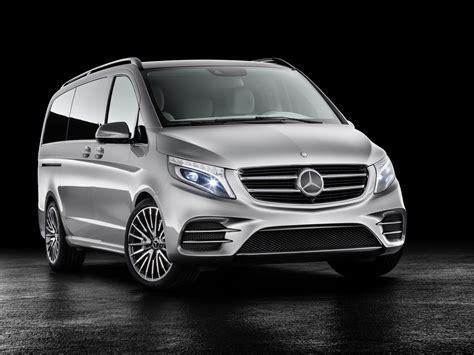 mercedes minivan mercedes benz unveils v class plug in hybrid minivan