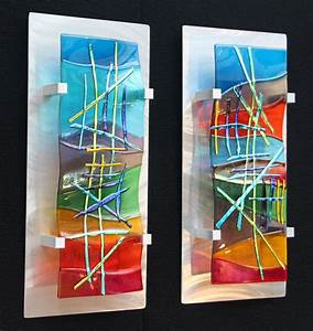Ideas about glass wall art on fused