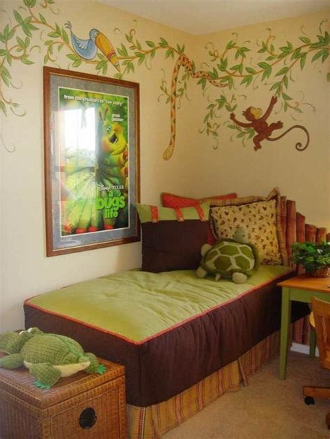 themed bedroom decor jungle themed rooms paint ideas