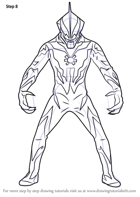 learn   draw ultraman belial ultraman step  step