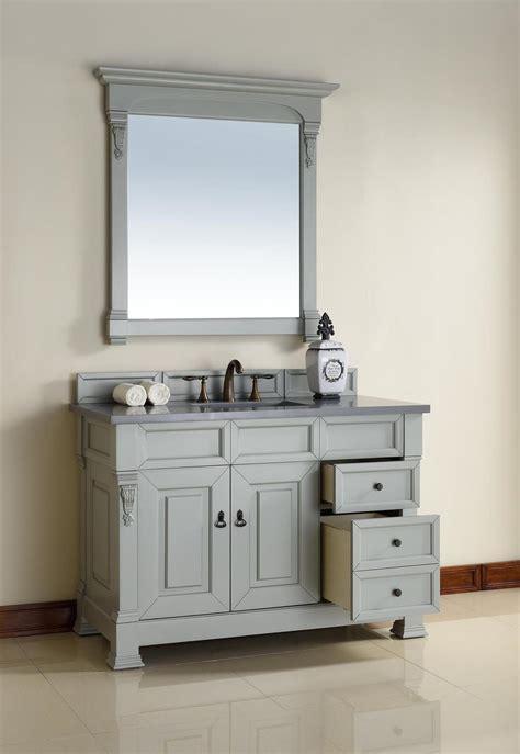 48 inch bathroom vanity abstron 48 inch grey finish single traditional bathroom
