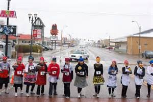 Liberal Kansas Pancake Day Race