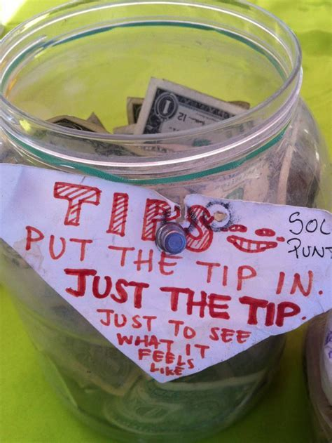 The 20 Funniest Tip Jars Ever