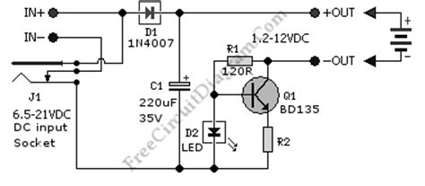 Low Cost Universal Battery Charger Circuit Diagram World