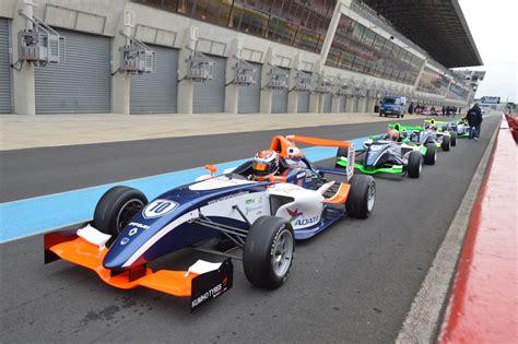formula 4 car adata sponsors formula 4 race car driver michael benyahia