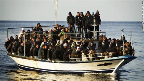 Immigrant Boat by Europe In Ashes Africa An Oasis Tv Show Puts Immigration