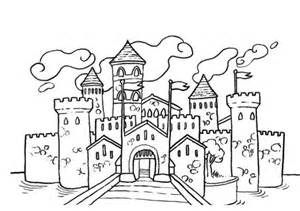 HD wallpapers coloriage chateau a imprimer