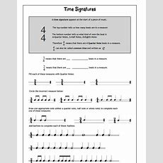 Middle School Band Maven Music Theory Worksheets (free