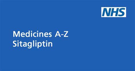 sitagliptin medicine  treat type  diabetes nhs