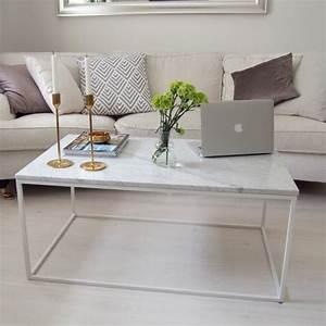 Table Basse Tendance : table basse en marbre 58 id es pour donner du style au salon ~ Teatrodelosmanantiales.com Idées de Décoration