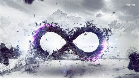 galaxy infinity sign wallpapers wallpapersafari