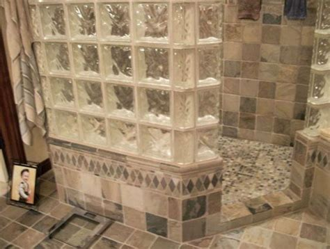 Glass Block Bathroom Designs by Bathrooms With Glass Block Search Home