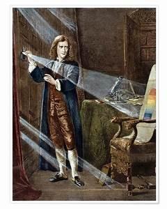 Sir Isaac Newton Poster | Posterlounge
